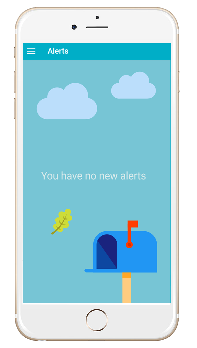 Komeer App No Alerts Screen