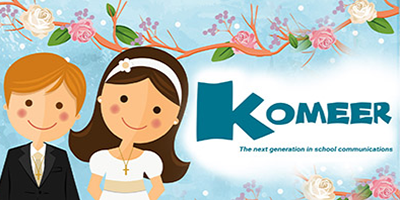 How to send Happy First Holy Communion and Confirmation Day greeting messages with Komeer
