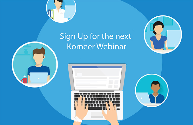 Komeer Webinar Sign up
